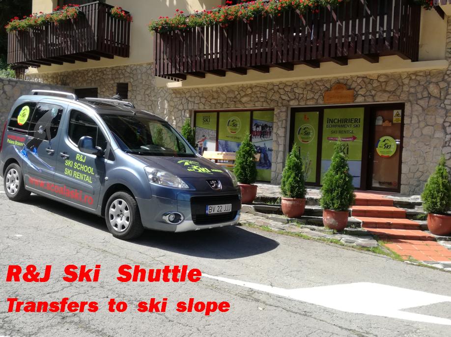 R&J ski rental store Poiana Brasov