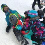 top ski school poiana brasov - kids ski lessons on the slope