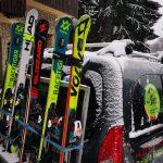 ski school transfer on the slope